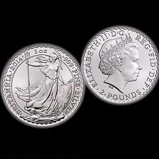 .999 Silver 1oz Britannia Coin. UK. Bullion. Collect. Ideal for stacking.