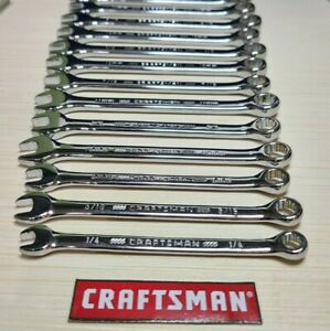 Craftsman 12pt Combination Box Wrench - SAE or Metric - Full Polish - (Select 1)
