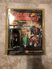 Transformers Sideswipe G2 MOC MOSC Original Vintage