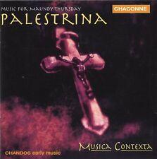 Palestrina - Music for Maundy Thursday / Musica Contexta