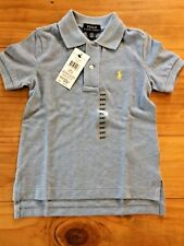 Ralph Lauren Boy Polo Classic T Shirt Top Size 2 New With Tags BNWT Blue Gift