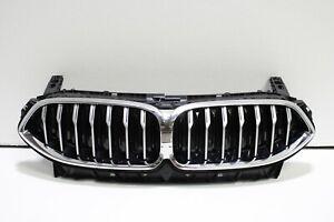 2019 2020 2021 BMW G14 G15 G16 M850i 840i Front Bumper Grille Flap Assembly Oem