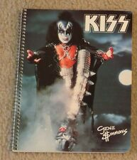 KISS GENE SIMMONS NOTEBOOK 1978 AUCOIN COMPLETE 50 PAGES