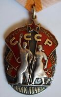 Soviet Russian USSR BADGE OF HONOR Medal Order