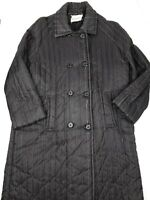 The Halle Bros Co. Vintage Women's Button Up Coat Size Unknown (See Desc) HU