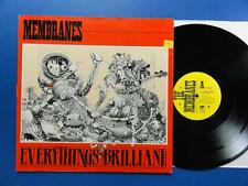 "THE MEMBRANES  EVERYTHING'S BRILLIANT InTape A1B1 12"" p/s 45 EX"
