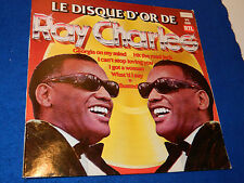 LP LE DISQUE D'OR de RAY CHARLES london 6840-063 crossover records