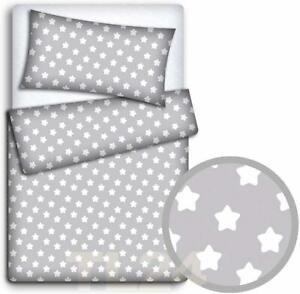 Travel Cot Duvet Set Baby Bedding Pillowcase Duvet Cover 2pc Top Quality New