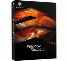 Corel Pinnacle Studio 23 - Video Editing Software PC Disc