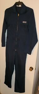 US Coast Guard (USCG) Long Sleeve Coveralls Dark Blue.Pre-Loved. Nice Condition