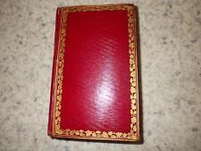 1820.Imitation Jésus Christ (maroquin).Gonnelieu (Poussin)