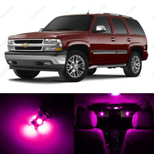 18 x Pink LED Interior Light Package For 2000 - 2006 Chevy Tahoe + PRY TOOL