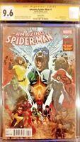 MARVEL Comics AMAZING SPIDER-MAN #1 CGC SS 9.6 INHUMANS VENOM CARNAGE MS MEDUSA