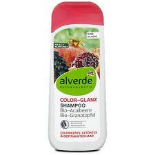 Shampooing Alverde Bio Vegan -Açaï et Grenade- Cheveux naturels et colorés 200ml
