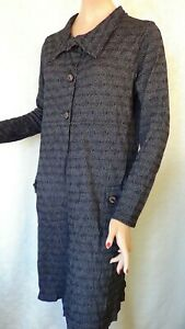 SIZE-L, VIGORELLA Wool Blend Cardigan / Coat Made in Australia.