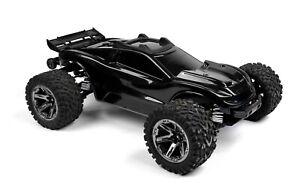Custom Body Black for Traxxas 1/10 Rustler 4x4 Truck Shell Cover