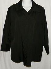 Cato Black Size 18/20w Shirt Top Blouse  Shirt
