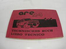 ANTIGUO técnica LIBRO ARO 24 todoterreno 4x4
