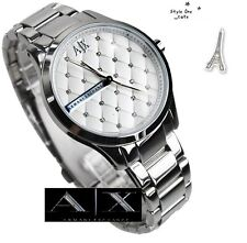 ARMANI EXCHANGE LADIE'S GLAMOUR DIAL SILVER WATCH AX5200