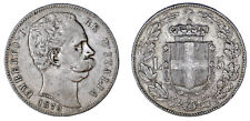 5 LIRE UMBERTO I - 5 LIRAS HUMBERTO I. 1879 R. ITALIA. ROMA. VF+/MBC+. ATRACTIVA