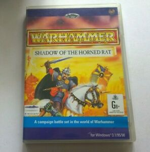 PC WARHAMMER SHADOW OF THE HORNED RAT VIDEOGAME VIDEO GAME FREE POSTAGE