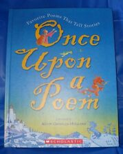 """""""ONCE UPON A POEM: POEMS THAT TELL STORIES  """"HARDBACK"""" ~LIKE NEW~  *SHIPS FREE*"""