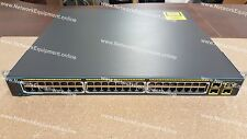 Cisco WS-C2975GS-48PS-L poe gigabit commutateur empilable 2975GS-48PS-L 2960S 2960X