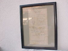 Original electube Data Sheet From Tube 300B Western Electric