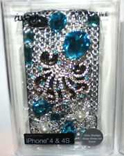 iwave iPhone 4 and 4S Rhinestone Embellished Hard Shell Protective Phone Case