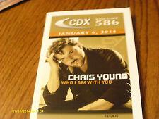 Keith Urban Chris Young Joel Crouse Ronnie Milsap 2014 DJ CD