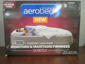 """AeroBed Queen 16"""" Comfort Air Mattress with built in pump ~NEW & SEALED~"""