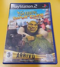 Shrek Smash'n Crash Racing GIOCO PS2 VERSIONE ITALIANA