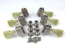 Schaller Nickel 3+3 Deluxe Tuners for Gibson®/Epiphone® Guitar TK-0771-001