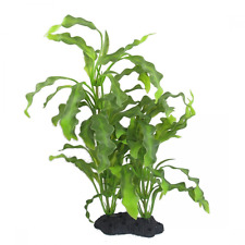 Aquarium Decor Plastic Water Plants 16 Inch Ornament Non toxic Fish Tank Supply