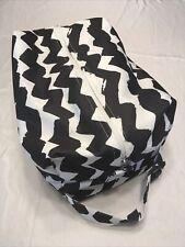 New ListingCloth Diaper Pod Travel Bag Storage Black N White Chevron
