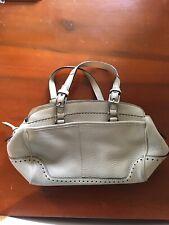 Coach M04S-5031 Fringe Leather Handbag White