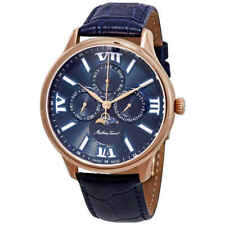 Mathey-Tissot Edmond Moon Phase Blue Dial Men's Watch H1886RPBU
