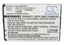 Battery For GARMIN-ASUS Nuvifone A10, M10, M10E (p/n 361-00048-00, SBP-23)