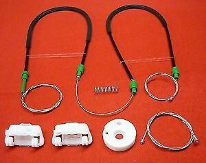 Pour Jaguar S TYPE Kit Réparation Lève-vitre / avant Gauche