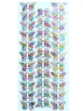 SMALL BUTTERFLIES Peel Off Stickers Multicolored Spring Garden Butterfly