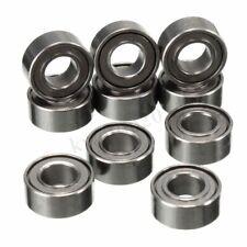 10pcs Mini Steel Rolling Roller Rolling Skate Ball Bearings MR63ZZ 3 x 6 x 2.5mm