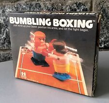 VINTAGE 1980# Bumbling Boxing - Wind-up Portable Sports Game# TOMY COLECO#NIB