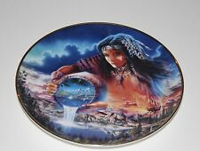 """Royal Doulton The Waters of Life Collectors Plate Franklin Mint Heirloom-8"""""""