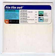 (FZ10) Tin Tin Out, All I Wanna Do - 1997 DJ CD