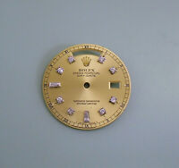 Rolex Men's Dial for Oyster Day Date Diamond Markers