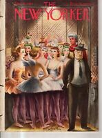 1943 New Yorker December 11 - Broadway elevator operator at the Ballet