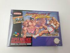 SNES - Street Fighter 2 Turbo für Super Nintendo , CiB , komplett , ovp