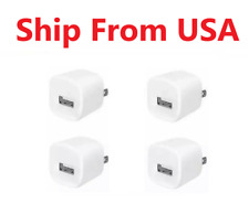 4x 1A Power Adapter Home Wall Charger US Plug FOR iPhone iPod classic touch Nano