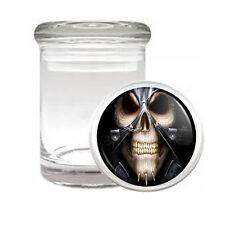 Skeletons D6 ODORLESS AIR TIGHT MEDICAL GLASS JAR CONTAINER Death Skulls
