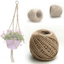 50M Jute Rope Can Be Used As Plant Hanger Widely Used For Any Home Or Garden